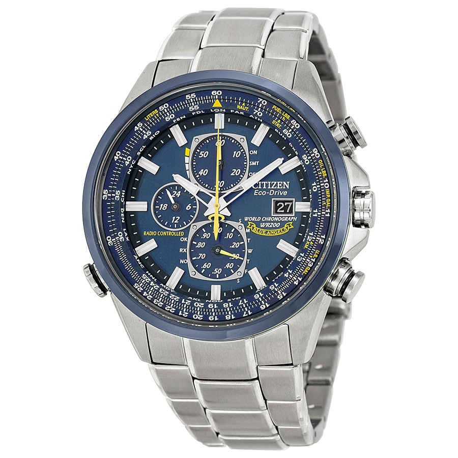 d453f10f1b1 Citizen Eco Drive Blue Angels Chronograph Men s Watch AT8020-54L