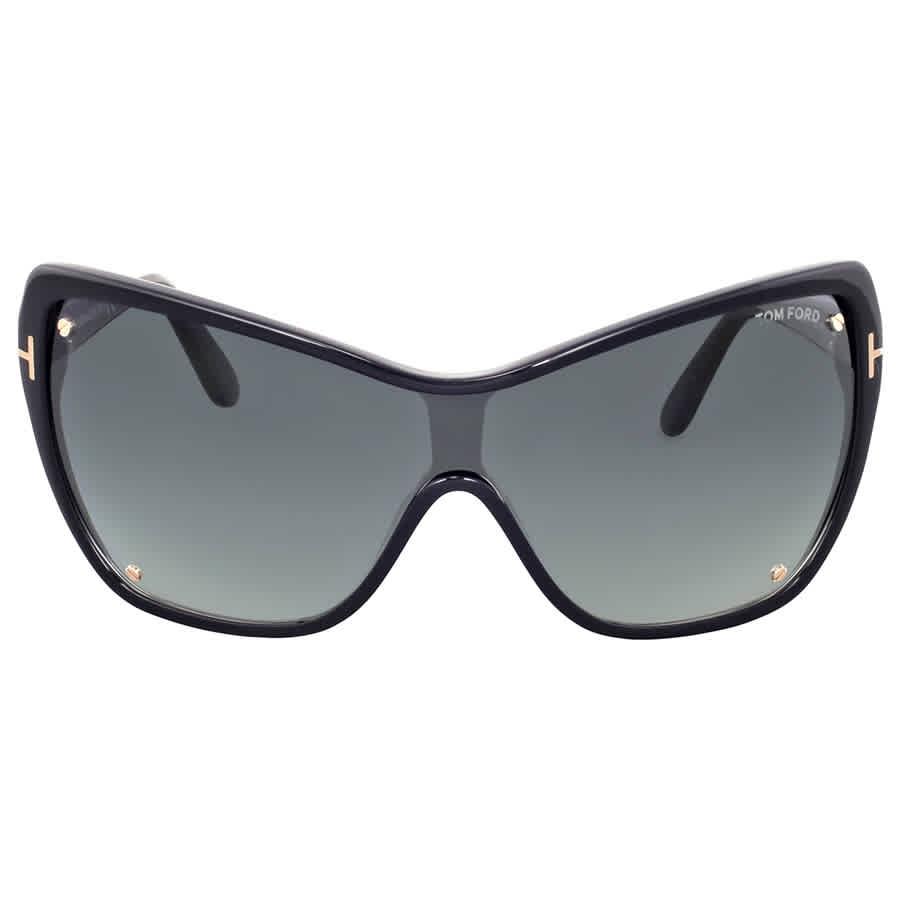 217fd4495d7a Tom Ford Ekaterina Grey Gradient Sunglasses 664689646111
