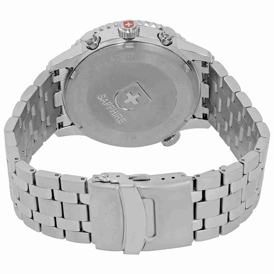 Swiss-Military-Thunderbolt-Men-039-s-Chronograph-Watch-Choose-color thumbnail 10