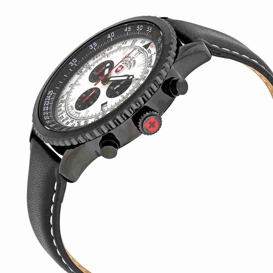 Swiss-Military-Thunderbolt-Men-039-s-Chronograph-Watch-Choose-color thumbnail 51
