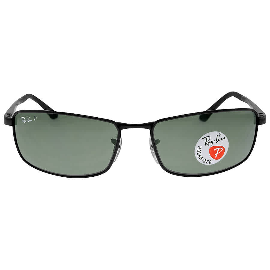 1a656729ab Ray Ban Green Classic G-15 Men s Polarized Sunglasses RB3498 002 9A 61-17