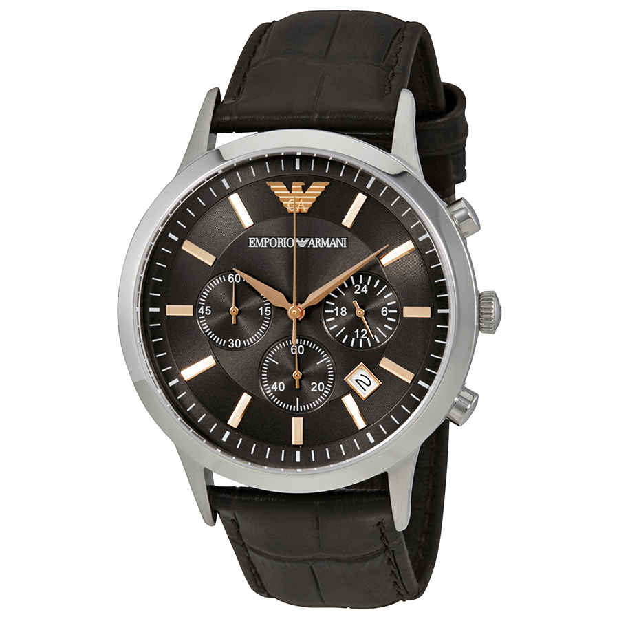 1ae389ae542 Emporio Armani Renato Chronograph Grey Dial Men s Watch AR2513 ...