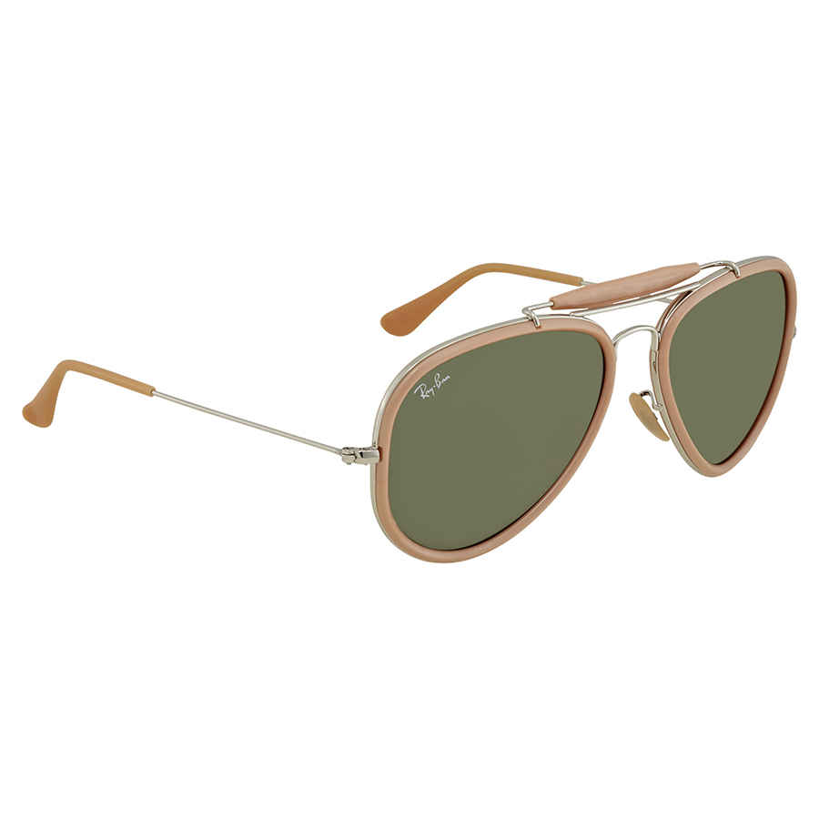 97b45e2594 Ray Ban Road Spirit Reloaded Green Aviator Sunglasses RB3428 W3377 ...