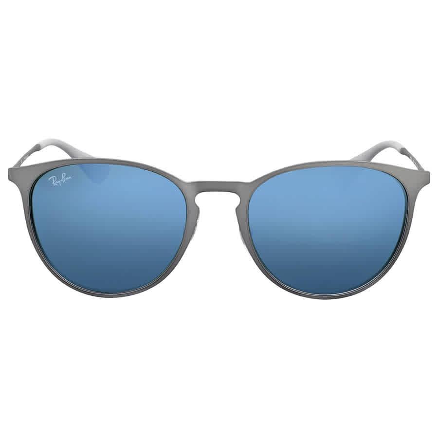 5d5ec8851fa Ray Ban Erika Green Mirror Sunglasses 8053672685107