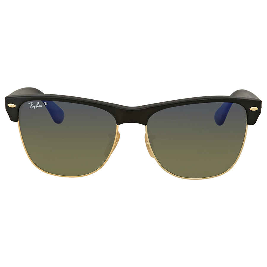 4f087ee2db1 Ray Ban Clubmaster Oversized Polarized Sunglasses RB4175 877 76 57 ...