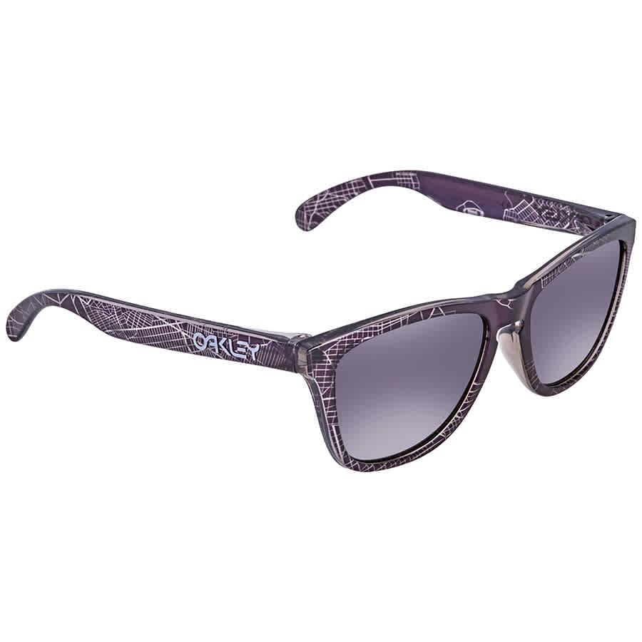 b2c1bcfe5b9 Oakley Frogskin Asia Fit Prizm Black Wayfarer Men s Sunglasses OO9245  924568 54