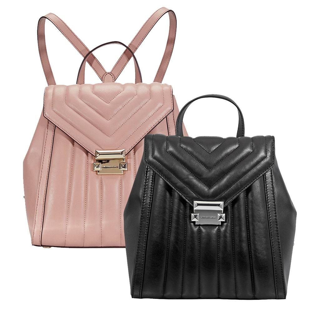 michael kors whitney quilted leather backpack choose color ebay rh ebay com