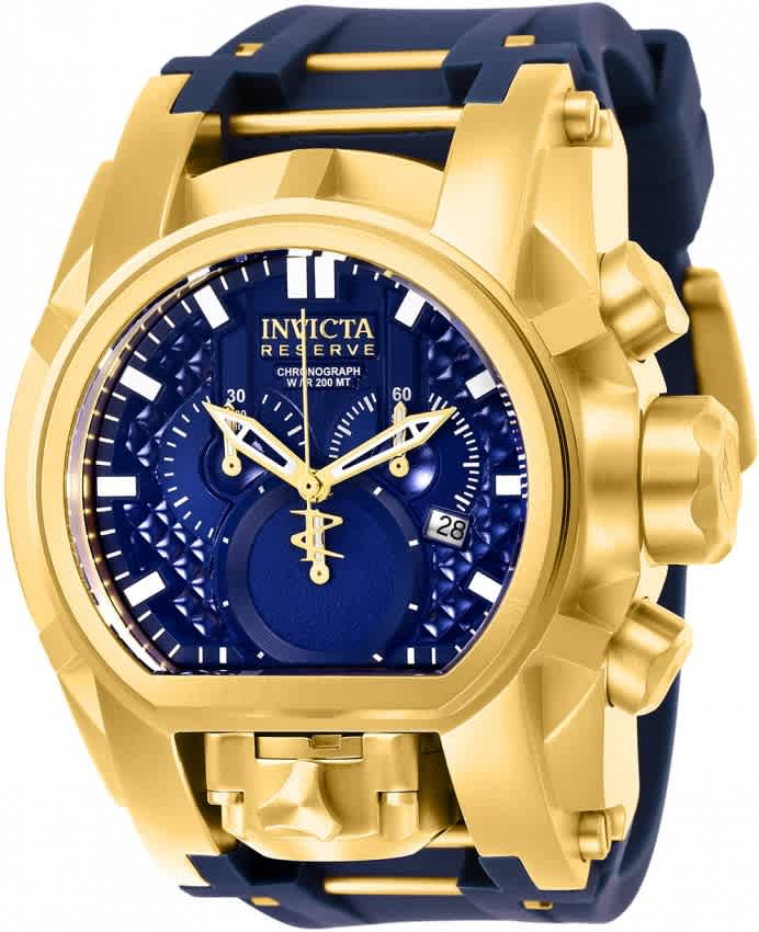 3e222448b Invicta Reserve Chronograph Blue Dial Men's Watch 25608 886678309689 ...