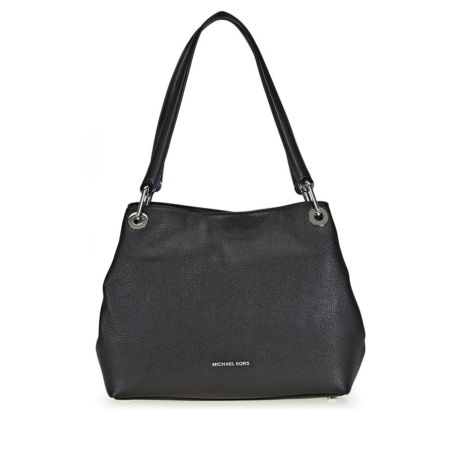 51c593b254ddc Michael Kors Raven Large Pebbled Leather Shoulder Bag 30H6SRXE3L-001 ...