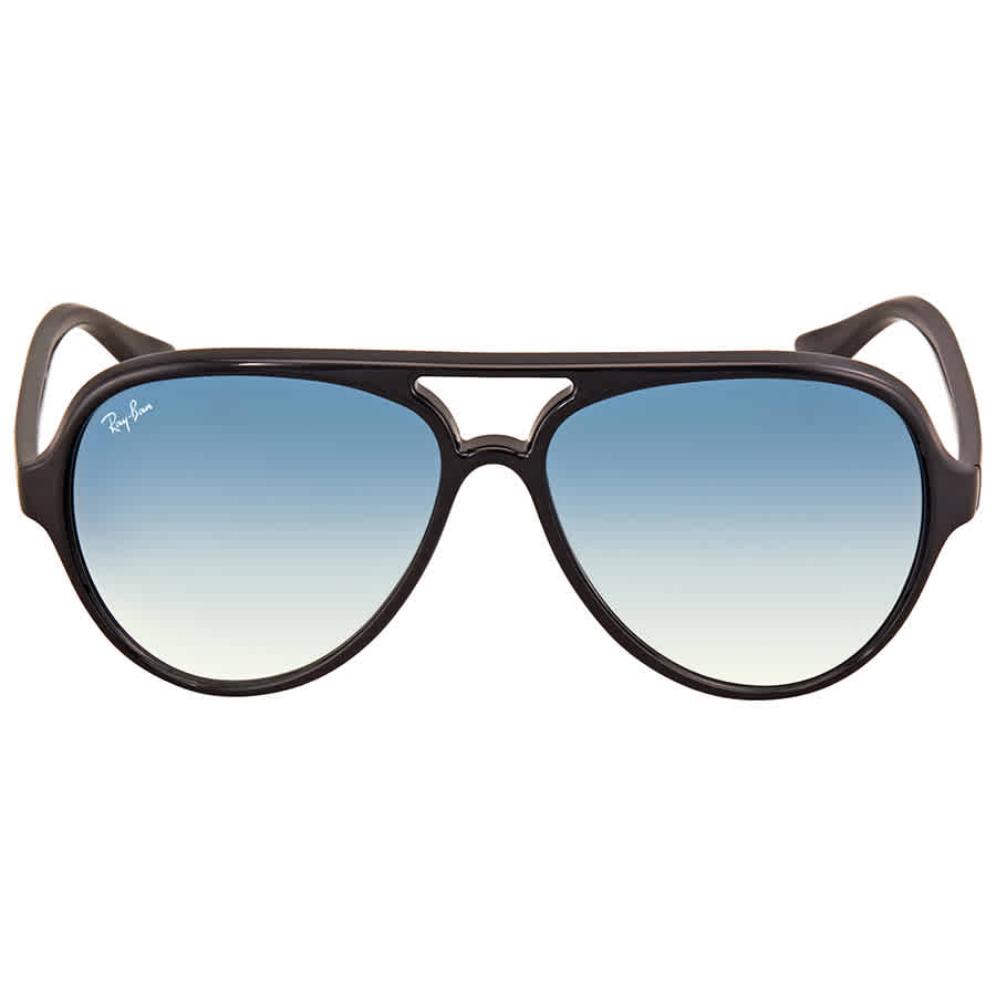 f6db70f1e2 Ray Ban Cats 5000 Light Blue Gradient Men s Sunglasses RB4125 601 3F ...