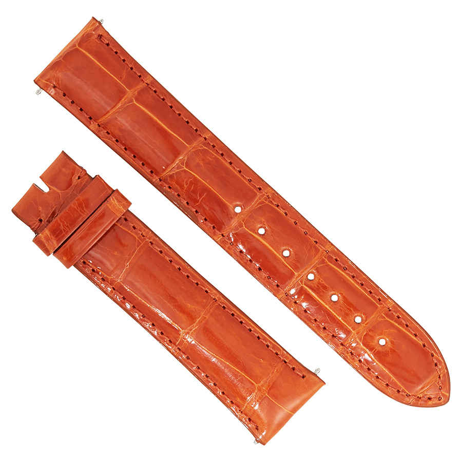 Hadley Orange About Roma Details Shiny Strap 20 Mm 20aat27m Alligator Leather v8nwN0m
