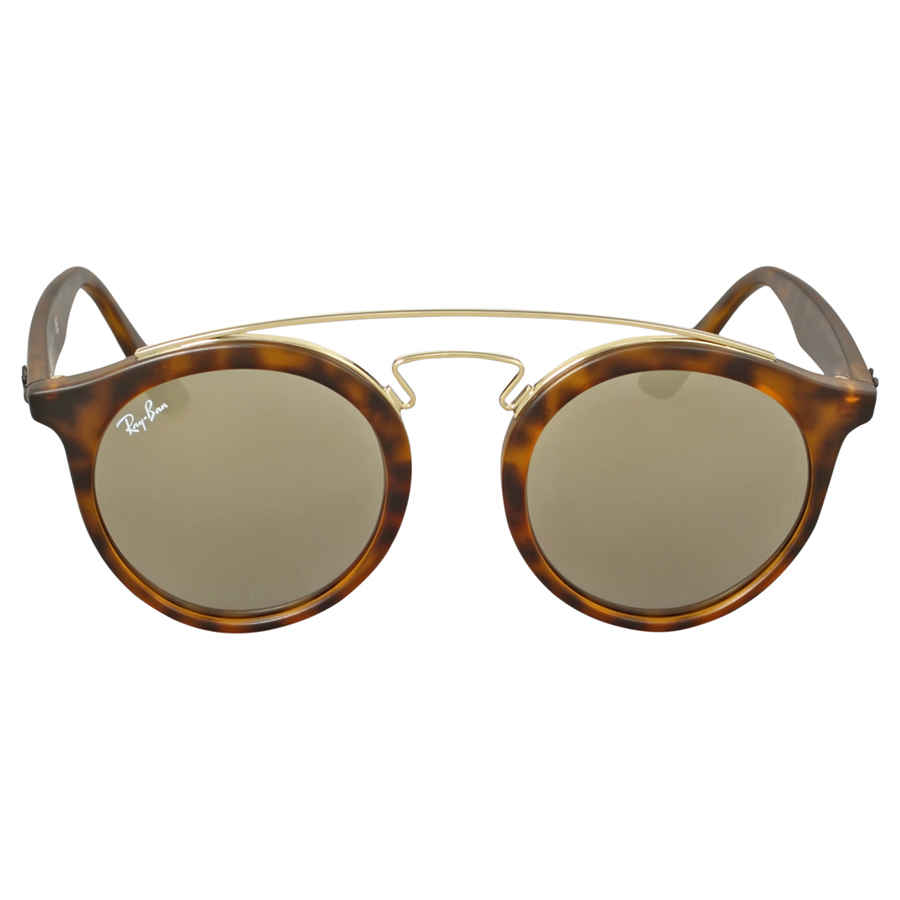 6d38fa2bd4 Ray Ban RB4256 Gatsby I Gold Mirror Sunglasses RB4256 60925A 46 ...