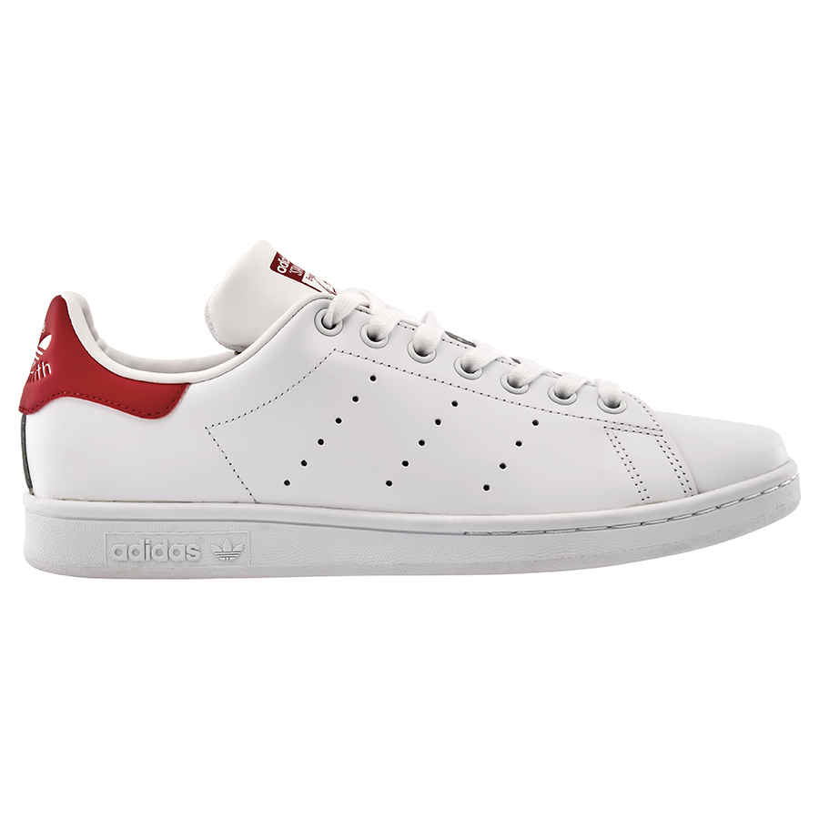 ac710933aa7 Adidas Originals Men s Stan Smith White Red Shoes- Size 9 ...