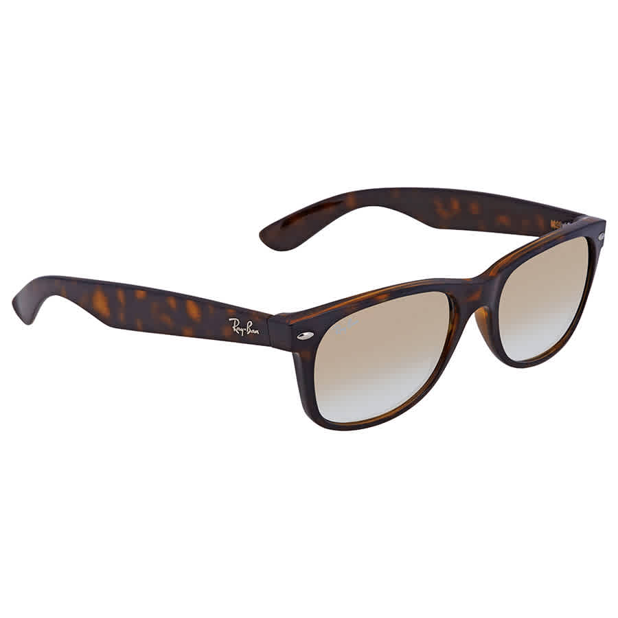 2837144774c Ray Ban New Wayfarer Gold Gradient 55 mm Wayfarer Sunglasses RB2132 710 Y0  55