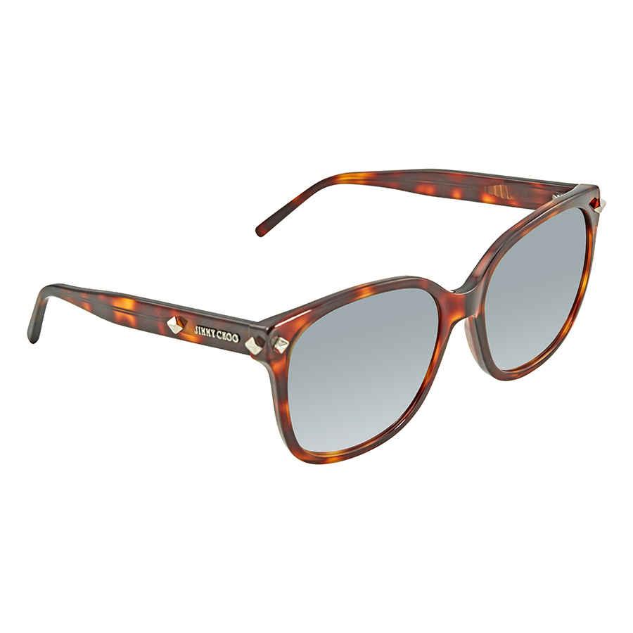 0170ee7b0f2e7 Jimmy Choo Grey Gradient Square Sunglasses DEMA S 005D 56 DEMA S ...