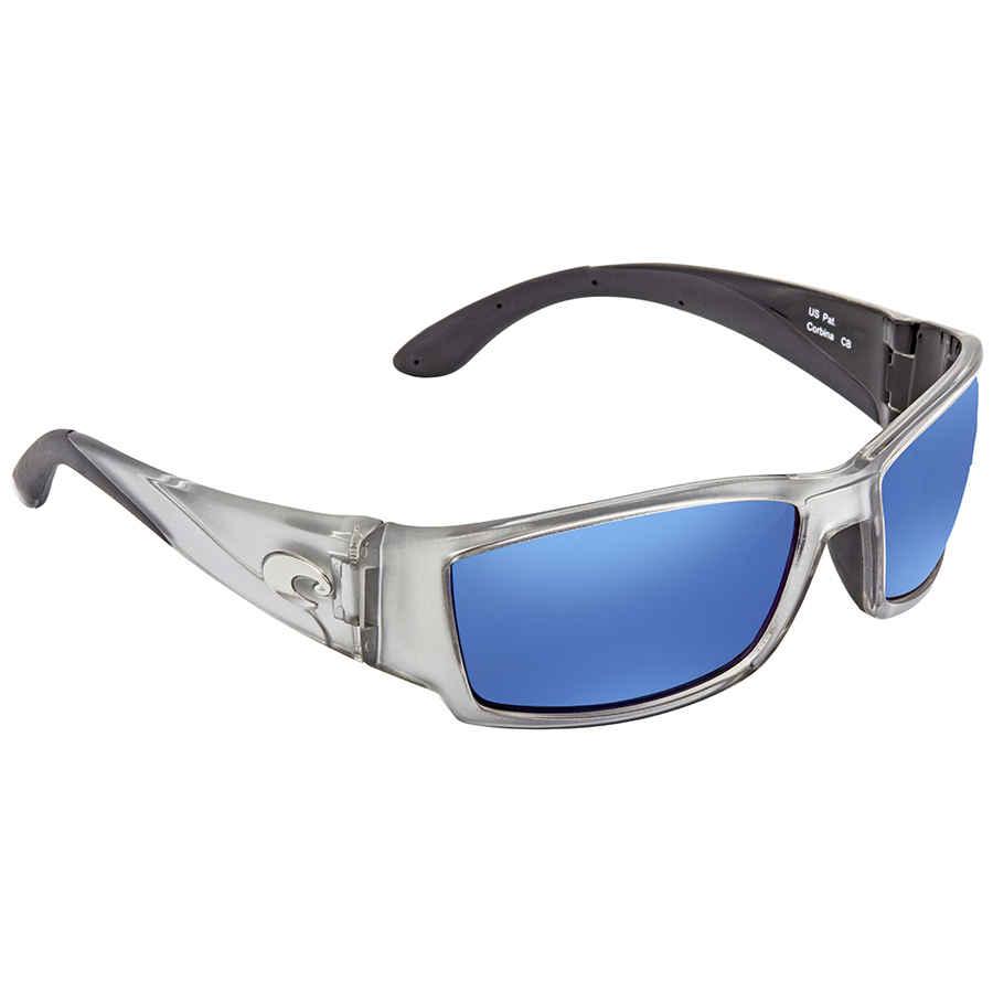 89770e4f0a Costa Del Mar Corbina Blue Mirror 580P Wrap Sunglasses CB 18 OBMP CB ...