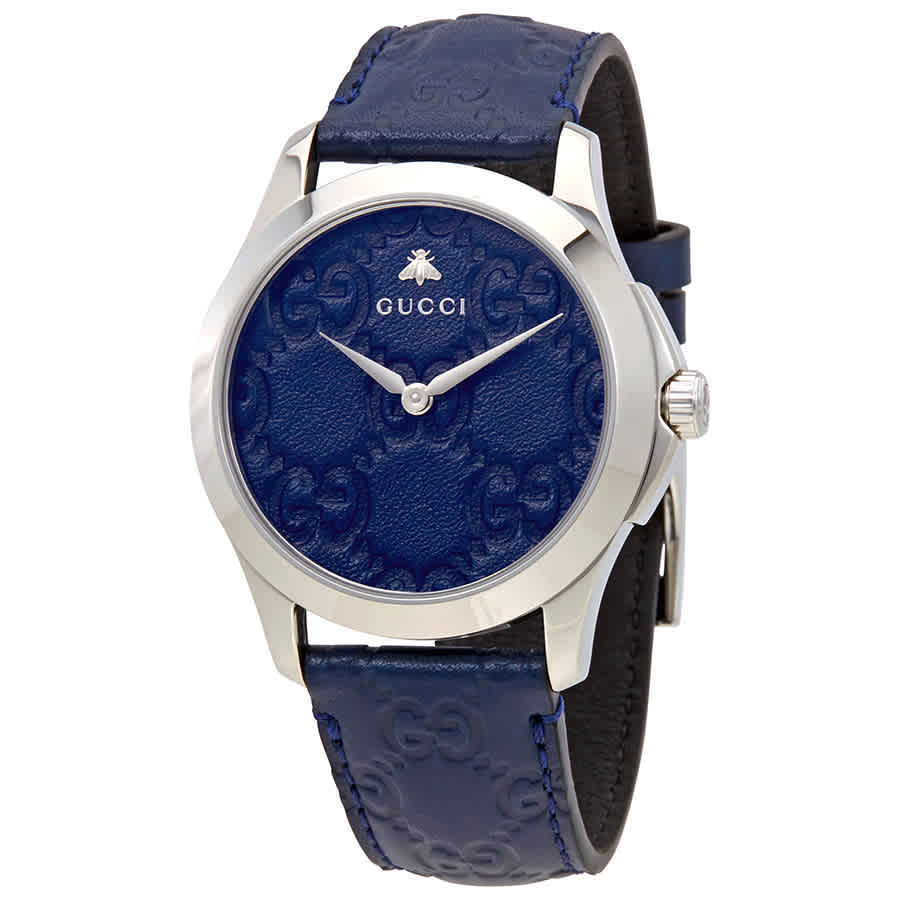 340dba32955 Gucci G-Timeless Blue Dial Watch YA1264032 731903409613