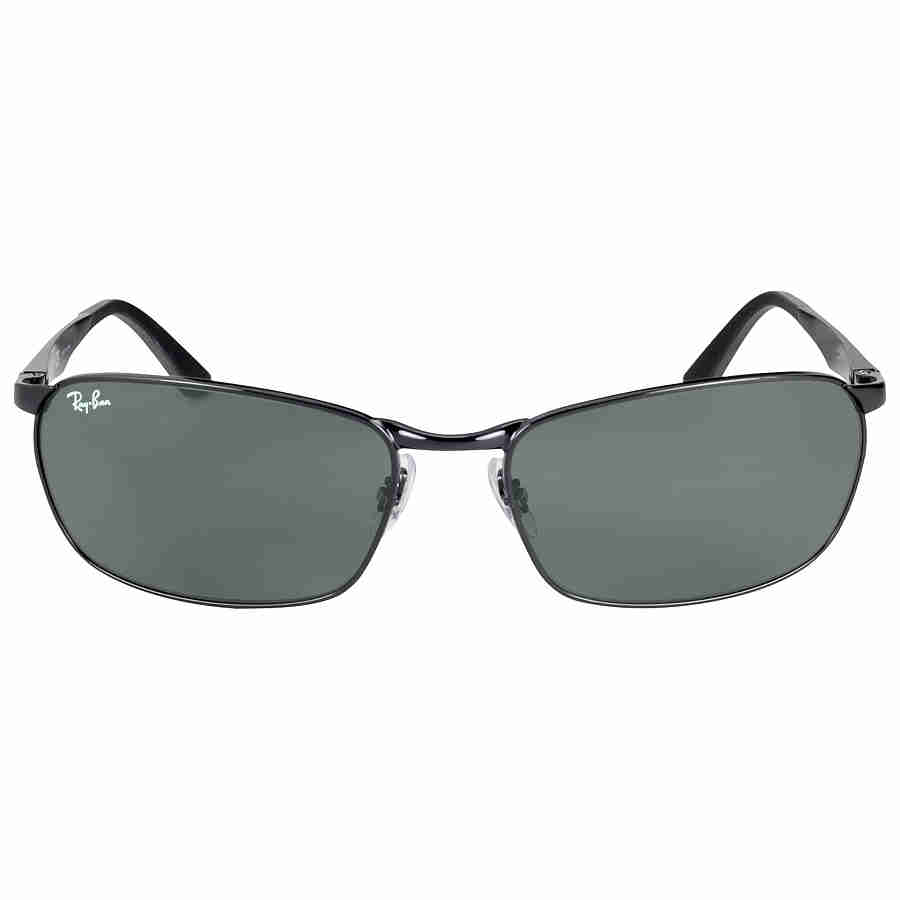 c44ee4ccf7 Ray Ban RB3534 Green Classic G-15 Men s Sunglasses RB3534 002 62-17 ...