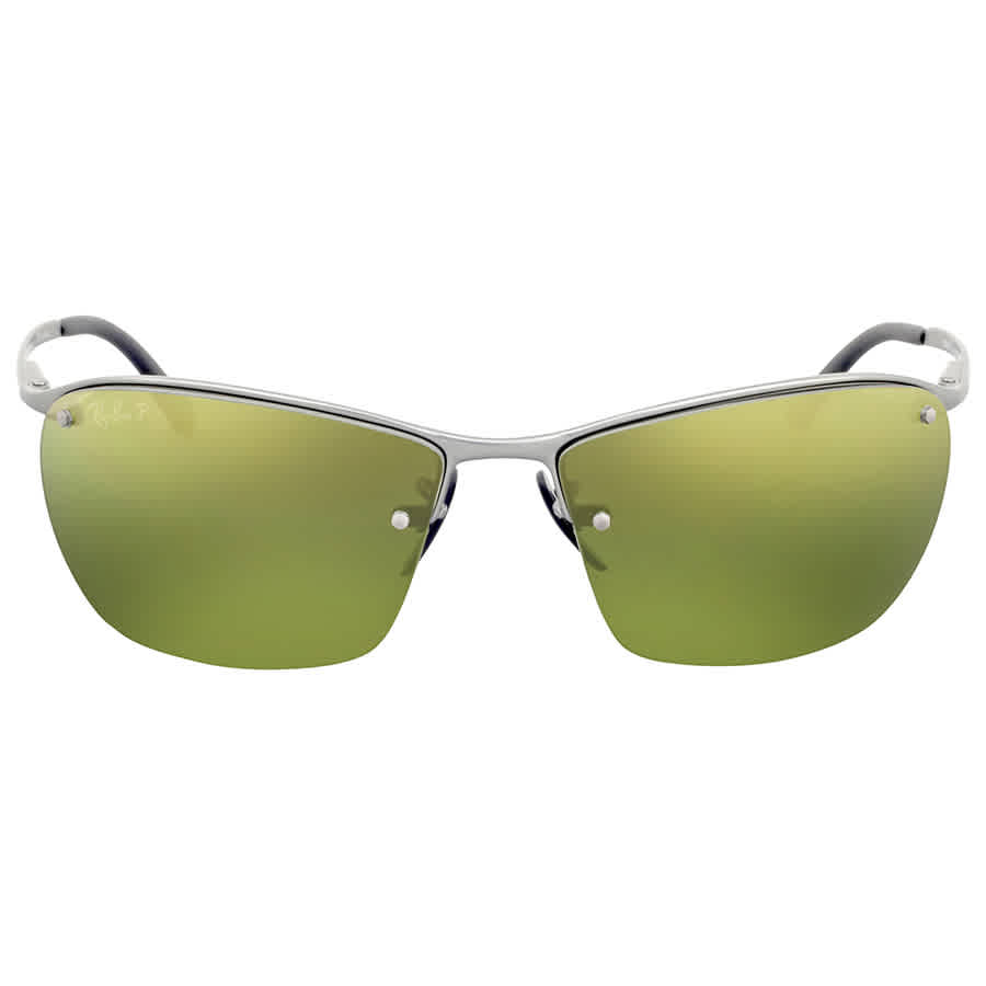 5c6ba2c10b Ray Ban Polarized Green Mirror Chromance Sunglasses RB3544 029 6O 64 ...