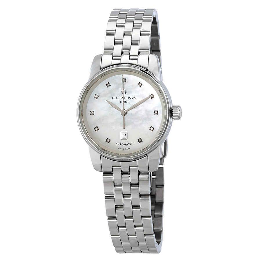 2f184b2c720 Certina DS Podium Automatic Diamond Ladies Watch C001.007.11.116.00 ...
