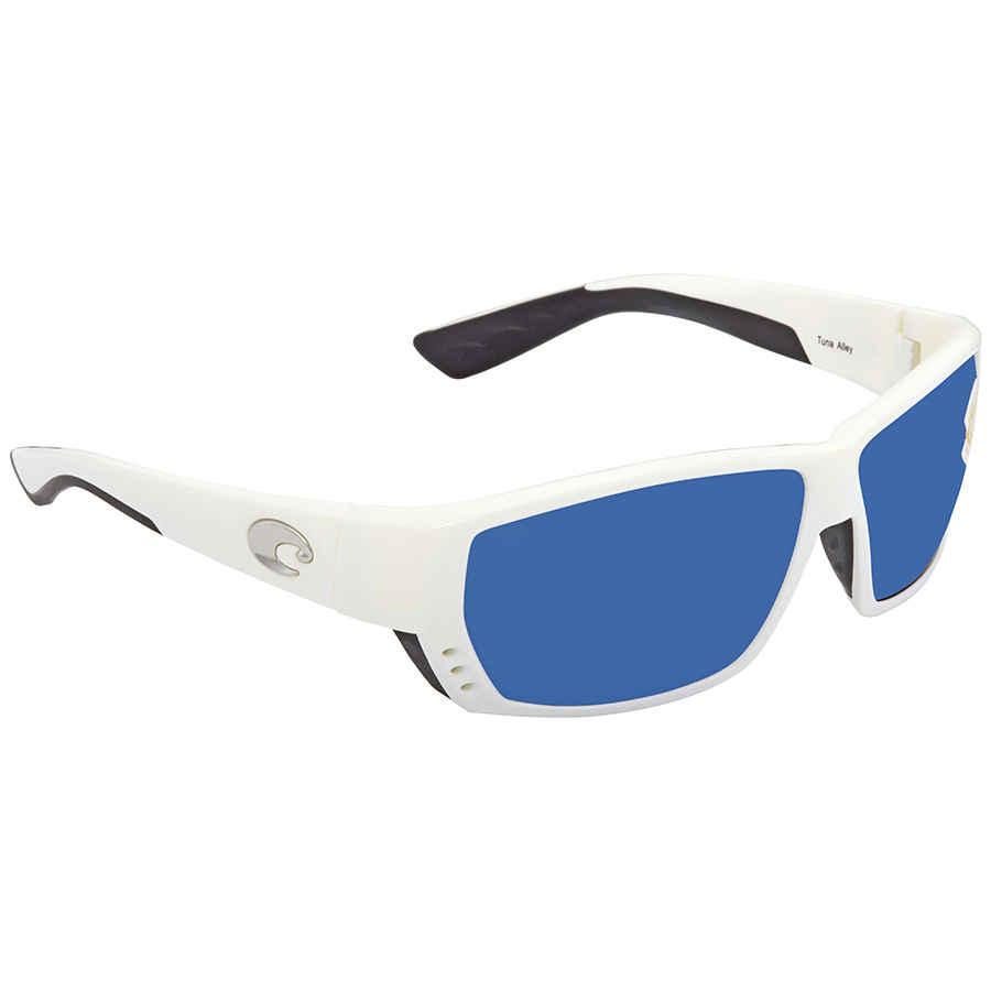 68d1c6fcda Costa Del Mar Tuna Alley Large Fit Blue Mirror Sunglasses TA 25 OBMP ...