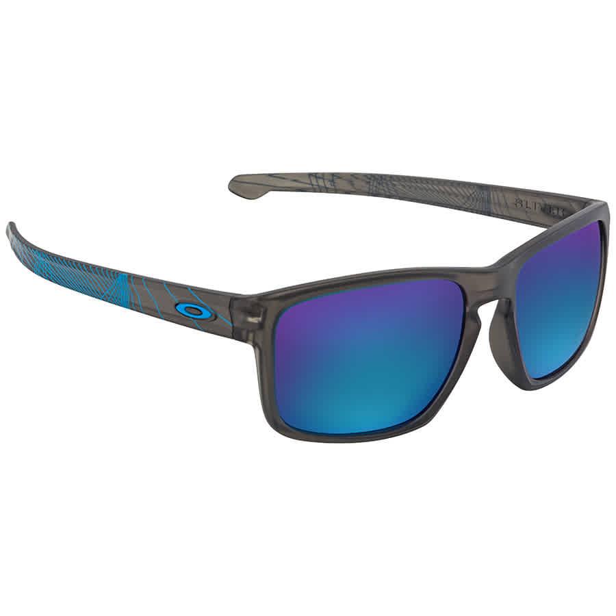 b241bd5fbbcb3 Oakley Sliver™ Matte Grey Smoke Aero Rectangular Sunglasses OO9269 926918 57