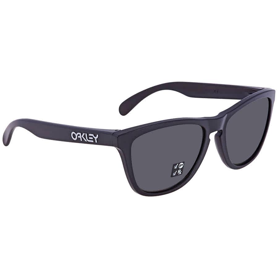 7e9a98acce577 Oakley Frogskins Polarized Prizm Black Sunglasses OO9013 9013F7 55 ...
