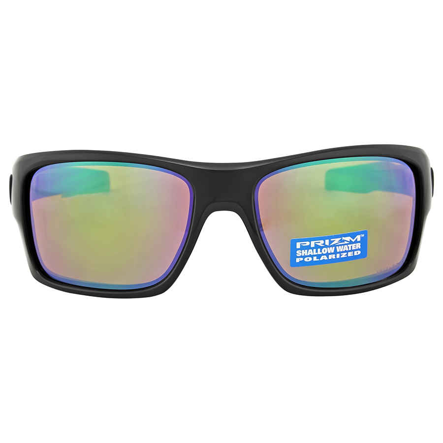 6bd1c66fa9 Oakley Turbine Prizm Fres Sunglasses- Polished Black OO9263-926313 ...