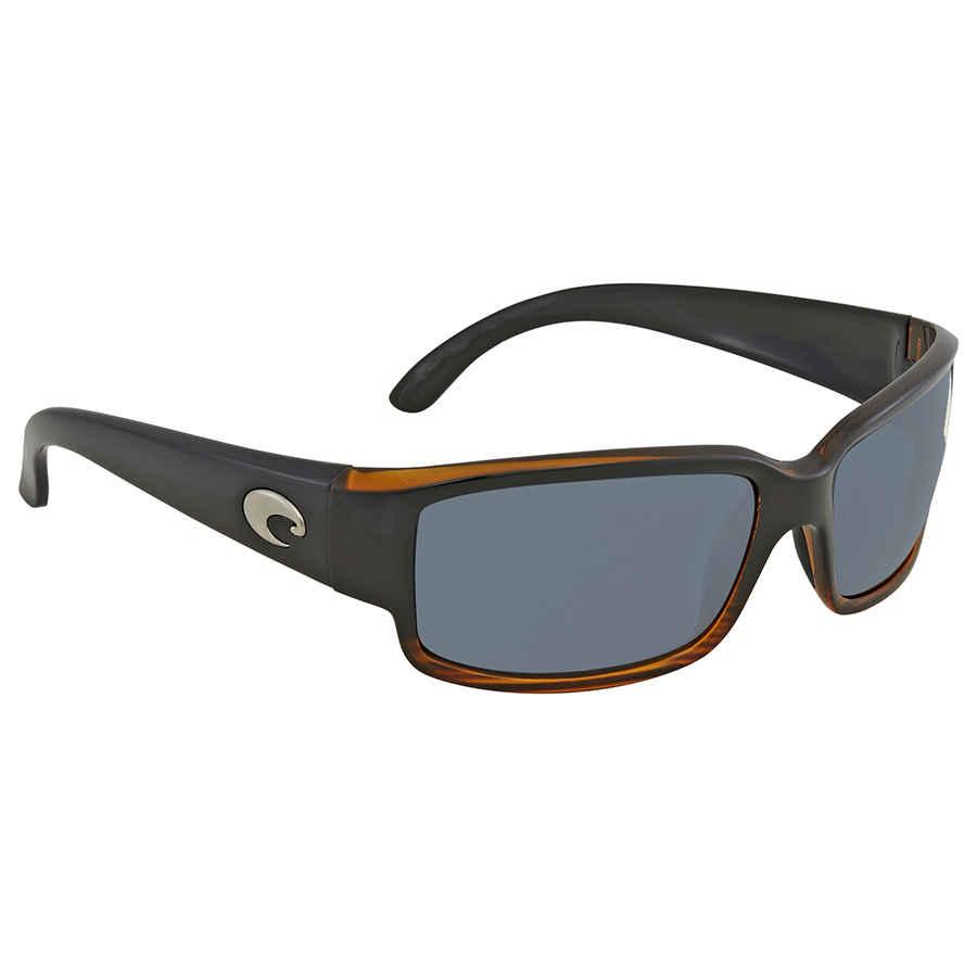 d749e9b511 Costa Del Mar Caballito Gray 580p Wrap Sunglasses CL 52 OGP CL 52 ...