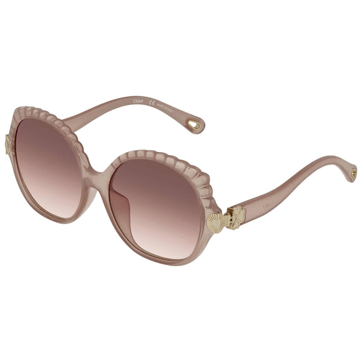 MCM Sunglasses MCM661S 290 NUDE Square Women 53x19x140