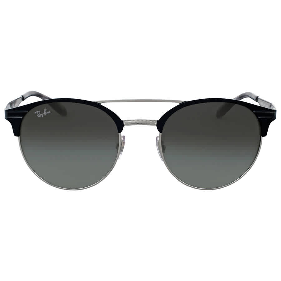 7a290df4e15 Ray Ban Grey Gradient Round Sunglasses RB3545 900411 51 ...
