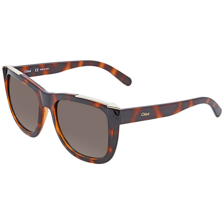 fbbcc4ab9368 Chloe Brown Gradient Rectangular Sunglasses CE659S 219 55 CE659S 219 ...