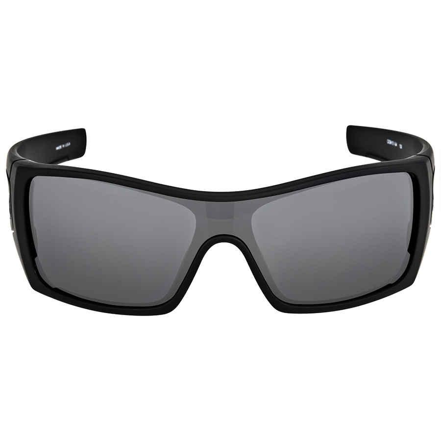 9b419616f11 Oakley Batwolf Matte Black Polarized Sunglasses OO9101-910104-27 ...