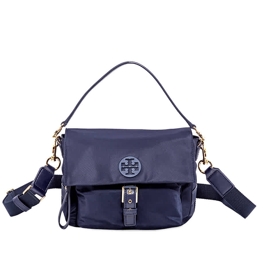 79b10fb838c2 Tory Burch Tilda Nylon Crossbody - Tory Navy 51332-405