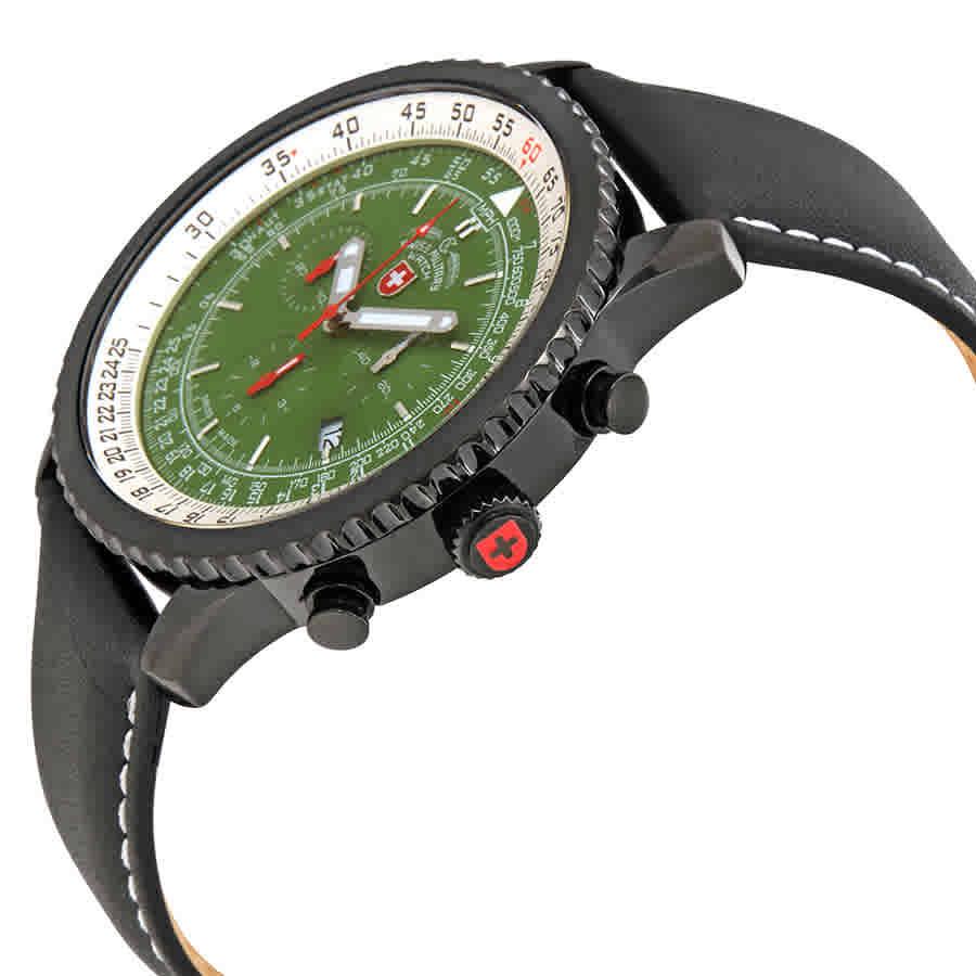 Swiss-Military-Thunderbolt-Men-039-s-Chronograph-Watch-Choose-color thumbnail 30