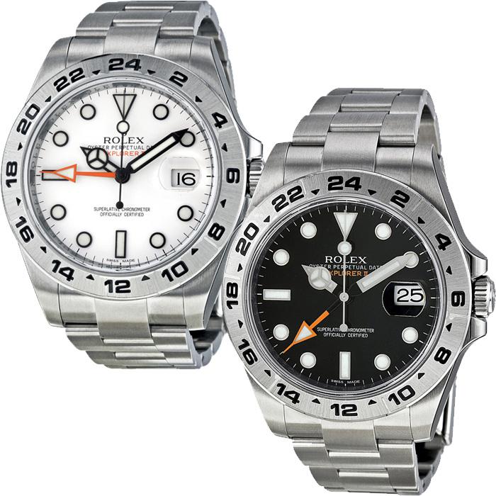 351ebe136f0 RLX216570WSO Rolex Explorer II White Dial Stainless Steel Oyster Bracelet
