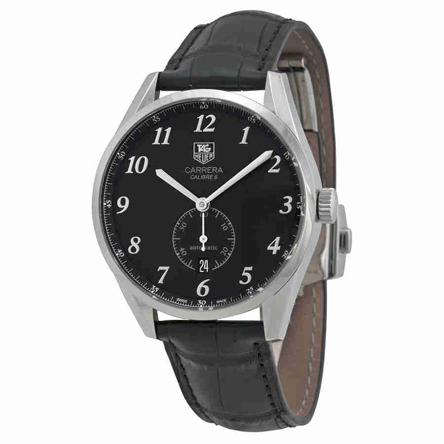 392444c7329 Details about Tag Heuer Carrera Heritage Automatic Men s Watch  WAS2110.FC6180