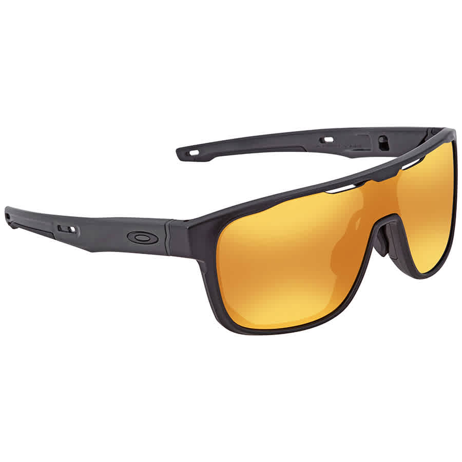 Oakley Crossrange Shield 24k Iridium Sport Asia Fit Men s Sunglasses OO9390  939004 31 79ceb44a6e