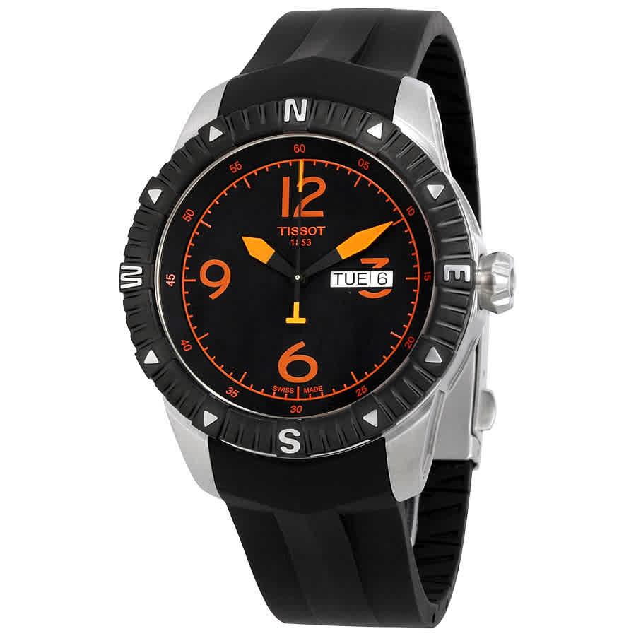d5e4c16bb4a Tissot T-Navigator Automatic Black Dial Men s Watch T0624301705701 ...