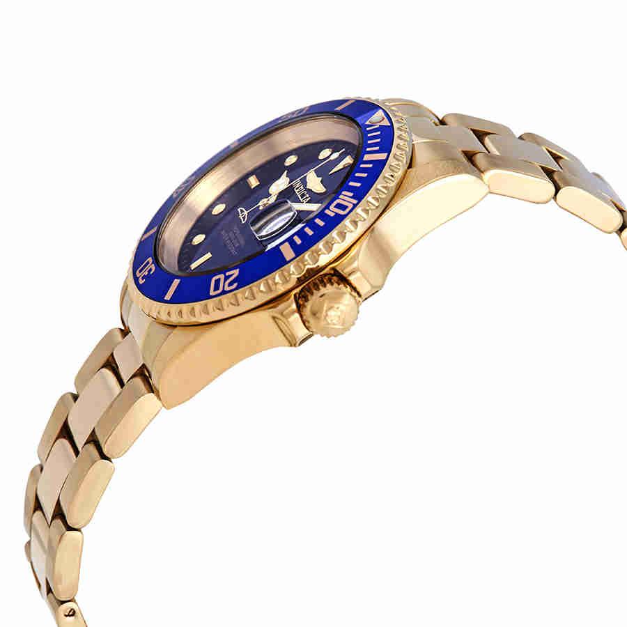 Invicta-Pro-Diver-Black-or-Blue-Dial-40-mm-Men-039-s-Watch-Choose-color