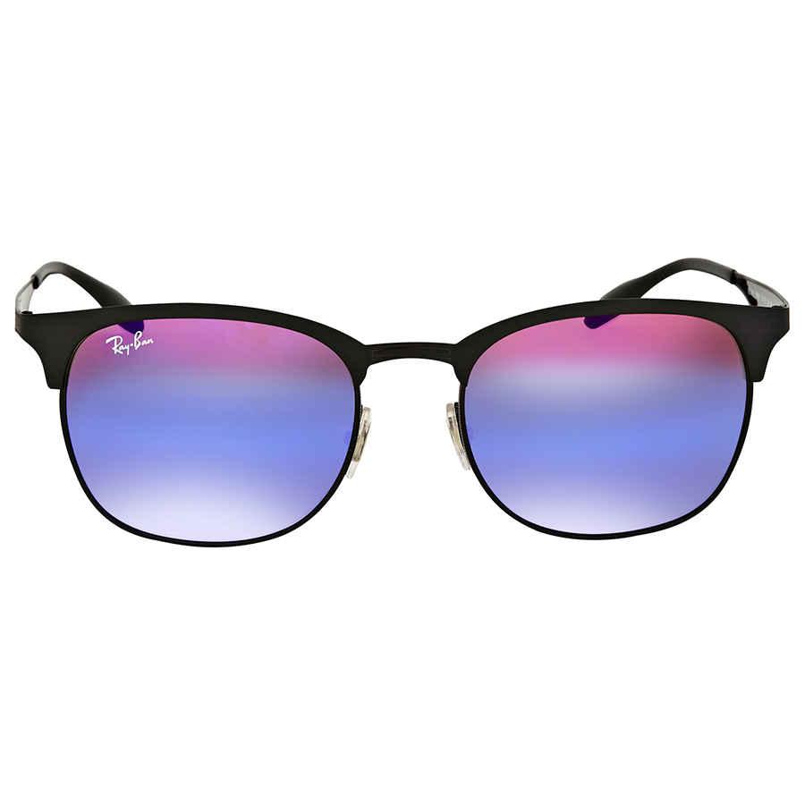 a830ec503d Ray Ban Blue Violet Gradient Mirror Metal Sunglasses RB3538 186 B1 ...
