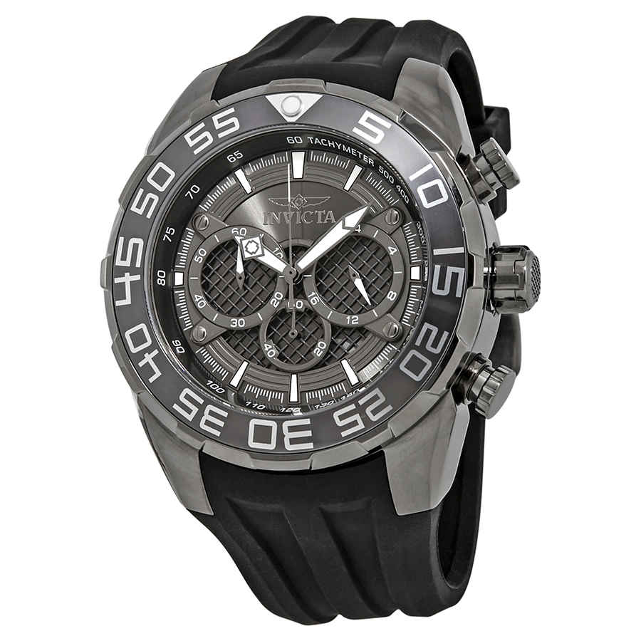 feb032eeb Invicta Speedway Chronograph Black Dial Men's Watch 26308 ...