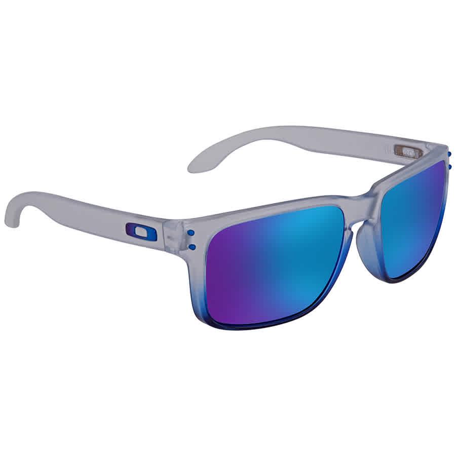 fcb7c939c1c Oakley Holbrook Prizm Sapphire Rectangular Men s Sunglasses 0OO9102 9102G5  55