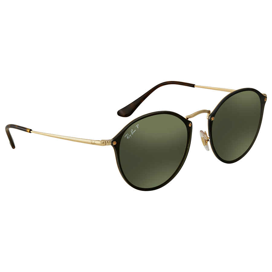a47089809a Details about Ray Ban Blaze Green Round Sunglasses RB3574N 001 9A 59  RB3574N 001 9A 59