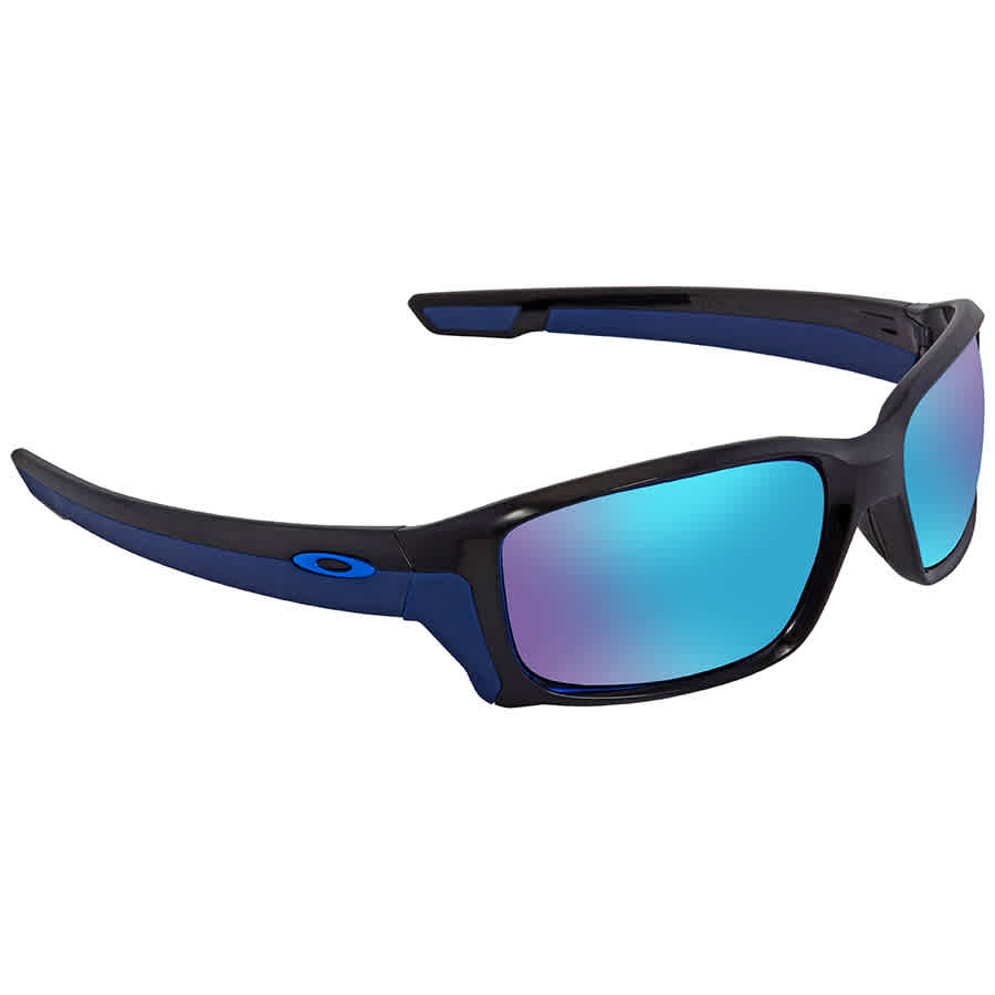 74d05185a7 Oakley Straightlink Sapphire Iridium Mirrored Rectangular Men s Sunglasses  OO9331-933104-58