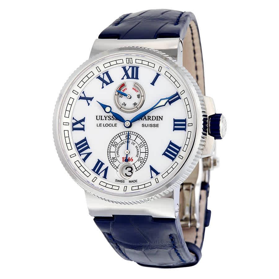 604f617fe94d Ulysse Nardin Marine Chronometer Men s Watch 1183-126-40