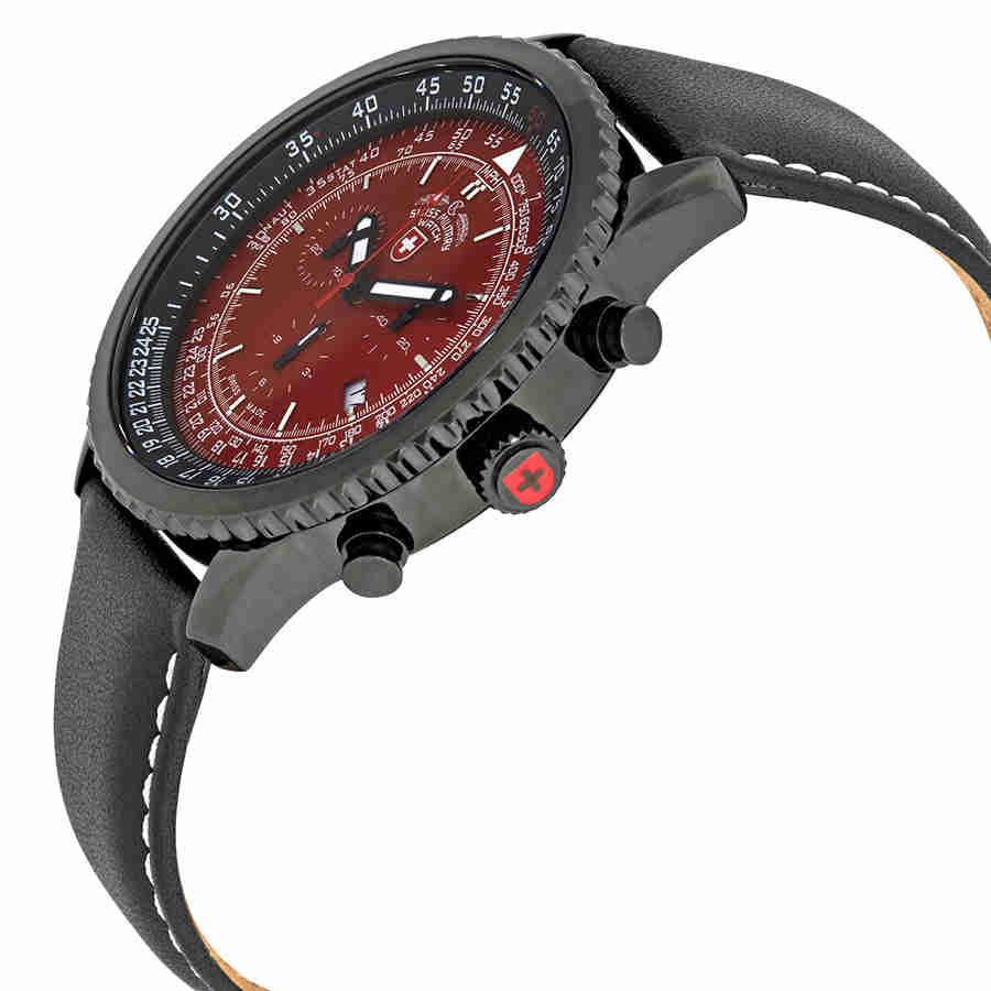 Swiss-Military-Thunderbolt-Men-039-s-Chronograph-Watch-Choose-color thumbnail 42