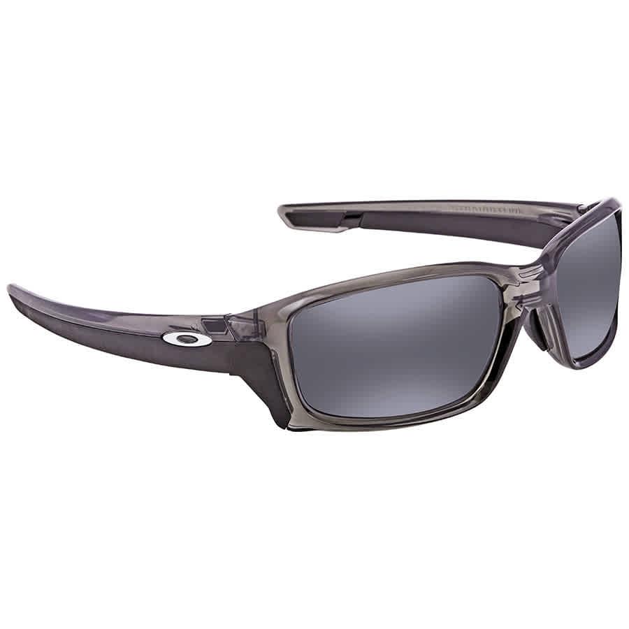 7353939450 Oakley Straightlink Black Iridium Rectangular Asia Fit Sunglasses  OO9336-933601-58