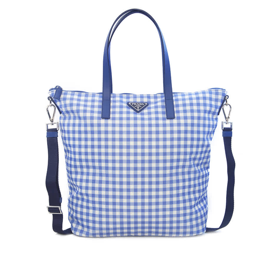 ed607bc8ad97 Prada Printed Nylon Tote B4696GF - Choose color | Style / Color Blue