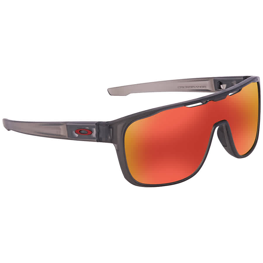 c92a6efbd5 Oakley Crossrange Shield Prizm Ruby Rectangular Men s Sunglasses OO9387  938713 31